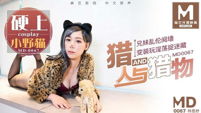 【麻豆传媒】猎人与猎物 兄妹乱伦阋墙 变装玩淫荡捉迷藏 硬上小野猫